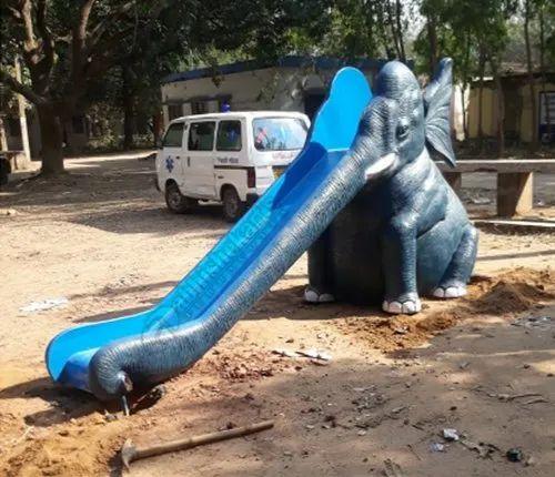 Abhishek Arts Elephant Slide