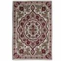 Naqash Kanzalwan Traditional Hand Embroidered Chainstitch Woolen Rug