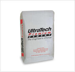Ultratech Premium Cement Packaging Type Hdpe Bags