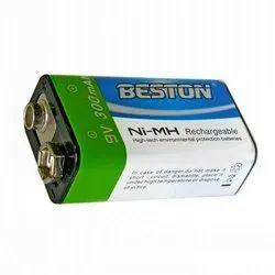 Beston 9V NI-MH 300 mAh Rechargeable Battery