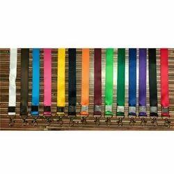 20 mm Satin Colored Card Lanyard