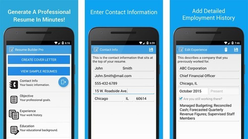 English Responsive Online Job Portal Android App | ID