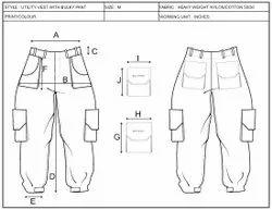 Fashion Techpack / Techsheet Making