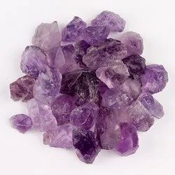 Natural Raw Amethyst Stone in Assortment Gemstones