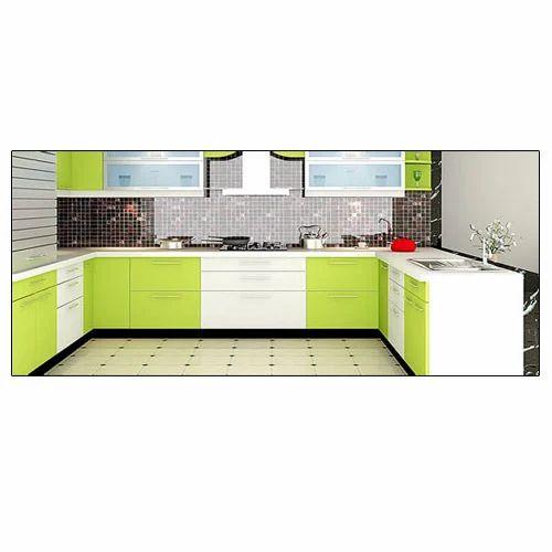 Modern U Shaped Modular Kitchen, Rs 550 /squarefeet, Easa