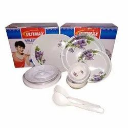 Designer Melamine Dinner Set