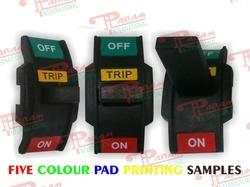 Five Color Pad Printing Job Work Services