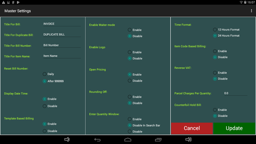 NGX Nunix Android Touch PC 14