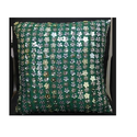 Green Cushion Embroidery