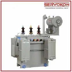 Upto 10mva Servokon Three Phase Oil Cooled Transformer