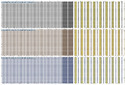 PC Stripe Engineering Button Patti Shirting