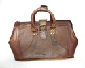 Vintage Leather Woman's Hand Bag