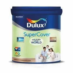 High Gloss Dulux Super Cover Celling White for Interior, Packaging Type: Bucket