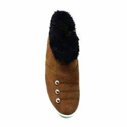Casual Brown Ladies Boot Shoe