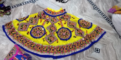 cotton Embroidery Full Flair Br Chaniya Choli, Age: Elder, Dry clean