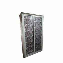 Aluminum Sliding Cupboard for Bedroom, Size: 8-10 Feet (Height)