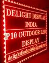 Single Color Outdoor LED Display