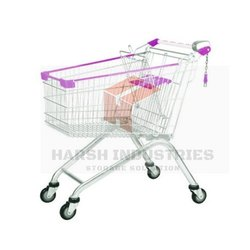 65 L SS Shopping Trolley