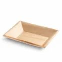 Rectangular Bio Degradable Areca Leaf Plates