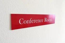 Acrylic Room Name Plate