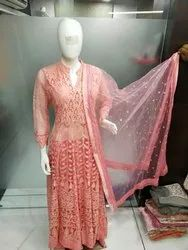 PSF Long Net Lunkhnvi Gown