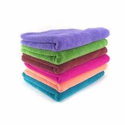 6 Colours Microfiber Car Cleaning Towel, Bulk Packaging, Size: 40 Cm X 40 Cm & 40cm X 60 Cm