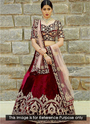 Wedding Wear Designer Silk Embroidery Work Lehenga Choli