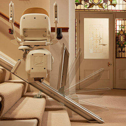 Stainless Steel Acorn Superglide 130 Stair Lift