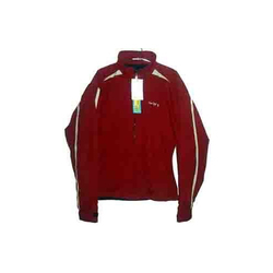 Red Full Sleeve Men Ecko Jackets