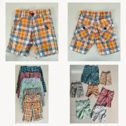 Boys Colorful Woven Shorts