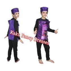 Kids Dairy Milk Fancy Dress Costume