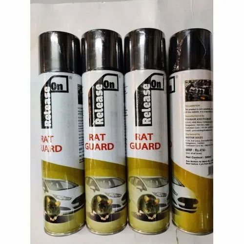 Liquid Aluminium (Bottle) Release On Car Rat Guard