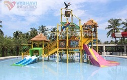 FRP Multi Purpose Water Play System for Amusement Park