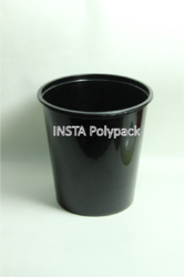 1000 ml Black Food Packaging Container