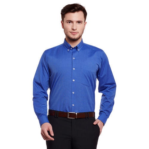 400d8940e94 Mens Blue Formal Shirt at Rs 260  piece