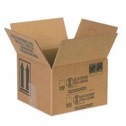 Brown Corrugated Box Printing Service, For Pakaging