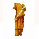 Kids Bharatnatyam Costume - Yellow