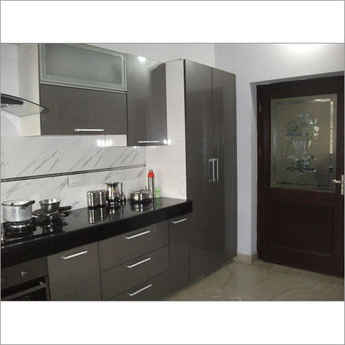 acrylic modular kitchen at rs 1500   square feet