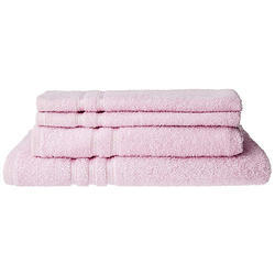Bombay Dyeing Flora 4 Piece 375 GSM Cotton Towel Set - Multicolour