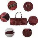 Travel Business Men Leather Travel Duffel Bag