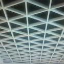 White Amazone Metal False Ceiling
