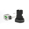 Type-C Car Charger (3A 2.4A) Black
