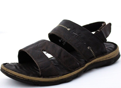 ae7320f77d50 Lee Cooper Men s Leather Sandals And Floaters LC1976 at Rs 1886 ...