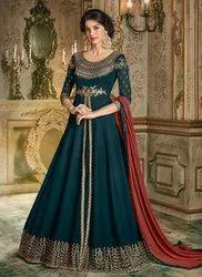 Barfi Silk Eid Special Anarkali Suits