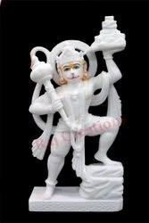 Marble Virat Veer Hanuman Moorti