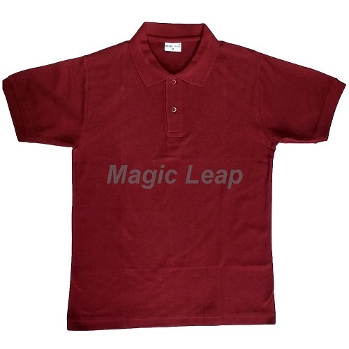 afe05f33e5e Magic Leap Maroon Plain T Shirt