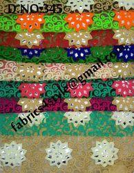 Mirror Embroidered Fabrics