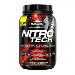 Muscletech Nitrotech Performance-Milk Chocolate Powder, Packaging Type: Can