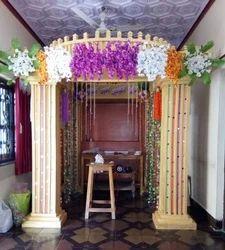 Thermocol Wedding Set Design Service