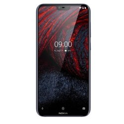 Black Nokia 6 Point 1 Plus Smart Phone